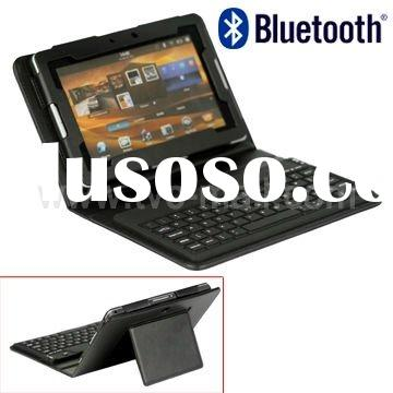 Leather Case with Bluetooth Keyboard for BlackBerry PlayBook
