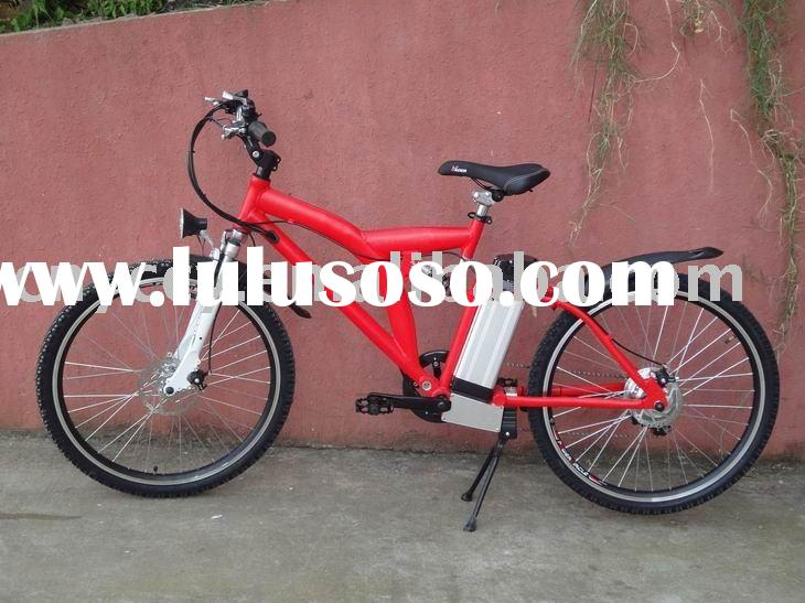 Li-ion battery 26inch wheel alloy frame mountain electrical bicycle