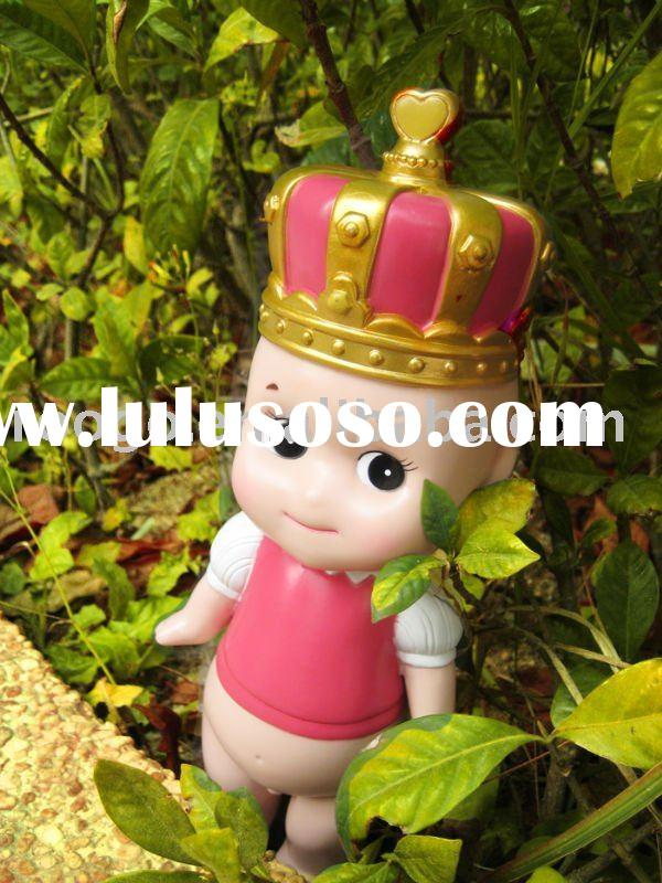 Lovely plastic angel doll crown series Valentine gifts low price good quality color box