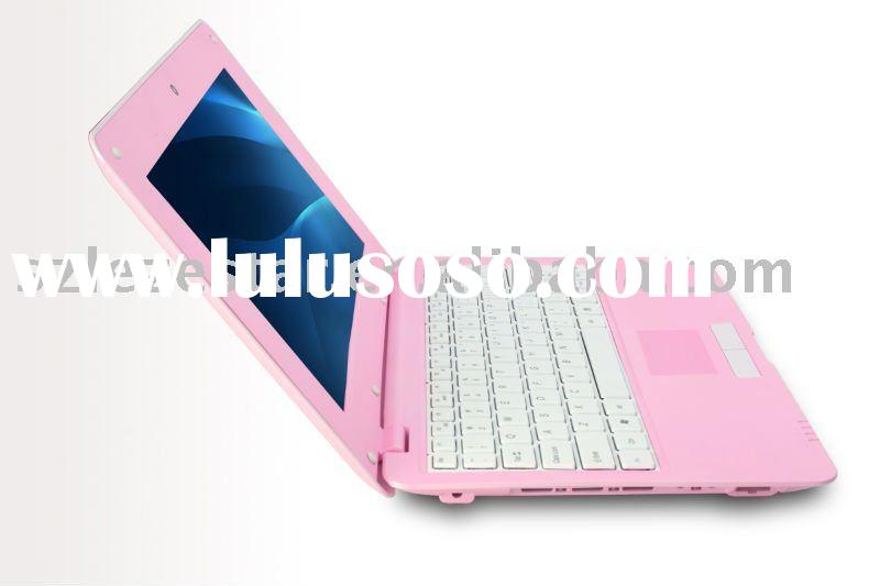Low Cost Mini Computer, Beautiful Pink Laptop for Girls
