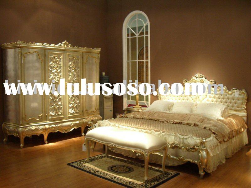 Luxury hotel furniture, european style bedroom set