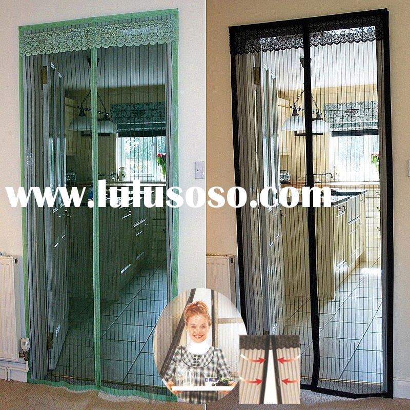 Mosquito preventing magnetic door mesh for sale - price,chin.