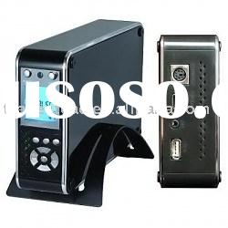 Media Hdd Player - PATA Hdd Player, Fan Cooler Inside, LCD Display
