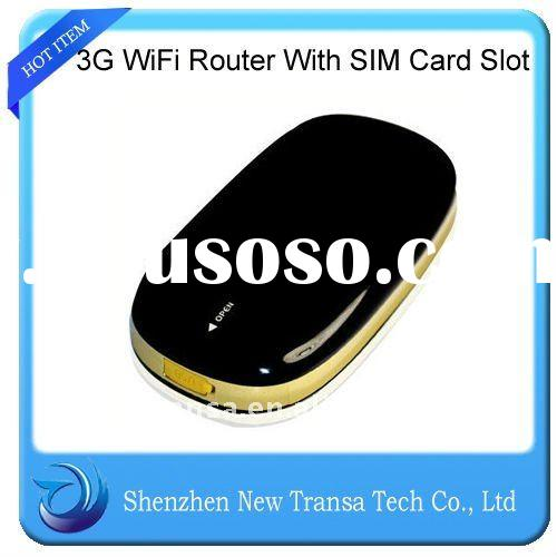 Mini 3G Wifi Router With SIM Card Slot