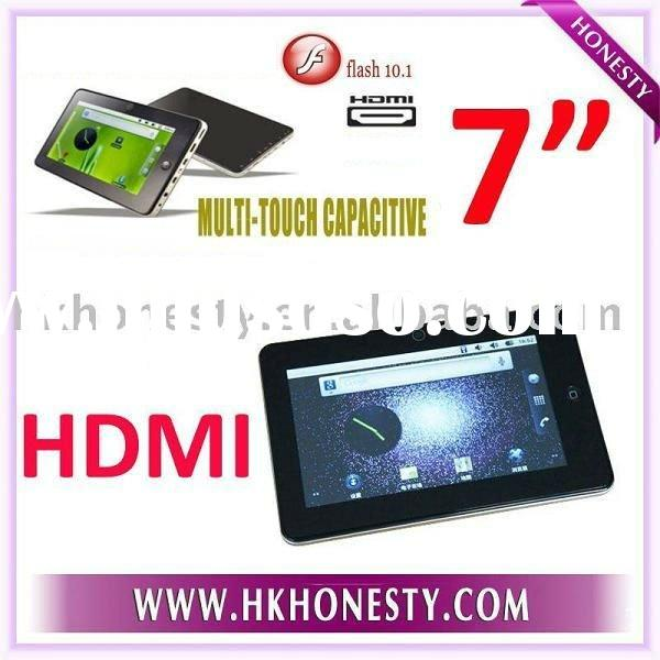 """Mini 7""""WiFi HDMI Android 2.3 Touch Laptop MID JX004D"""