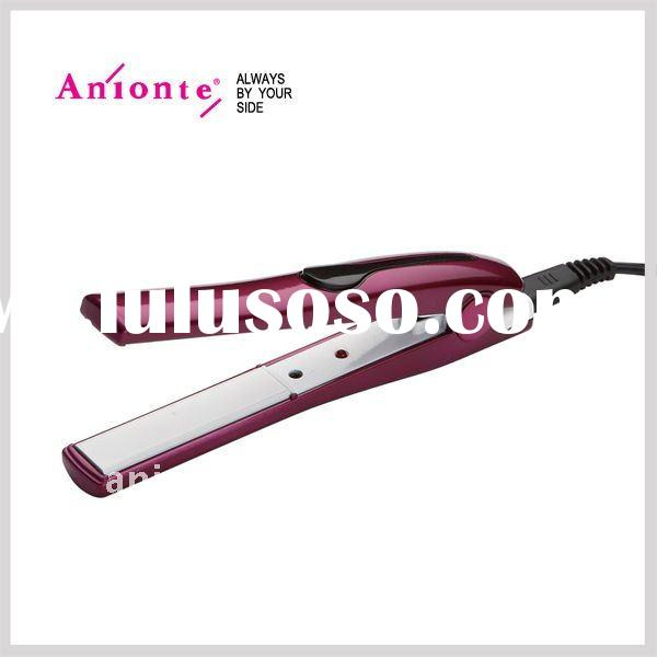 Mini hair straightener can be cord/cordless operated