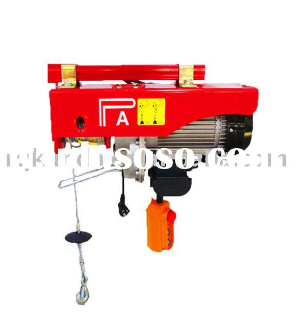 Mini wire rope electric hoists capacity 400 lbs