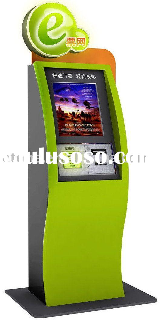 Movie Ticket vending machine with touch screen