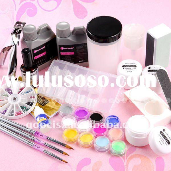 Nail art kit,Nail UV Gel Kit,Acrylic Powder Kit