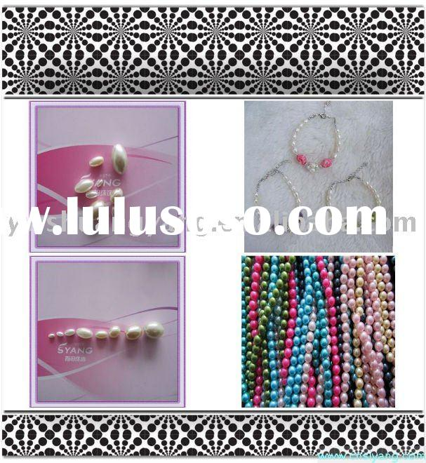 Necklaces pearl beads,abs accessories