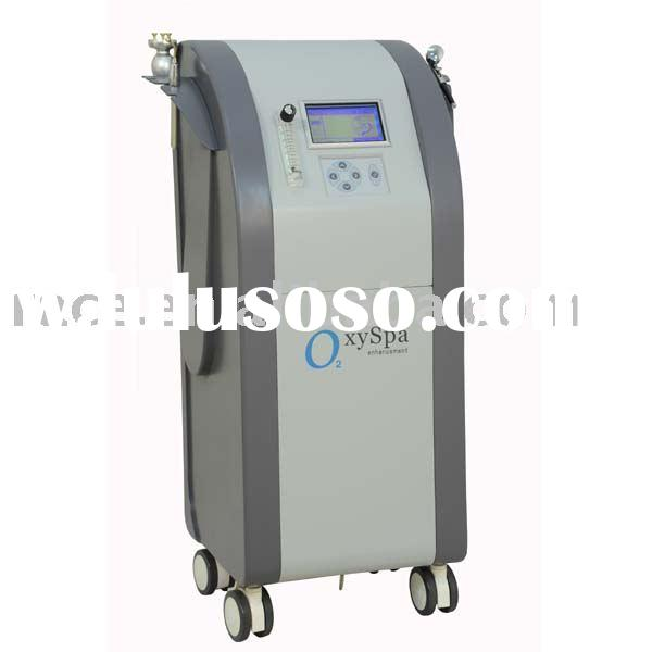 Oxygen jet therapy with infusion,spray,inhalation beauty equipment(CE approval)