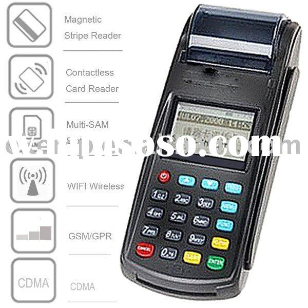 POS Payment Terminal With GPS, GPRS, WIFI, Striped Card reader, (N8110)