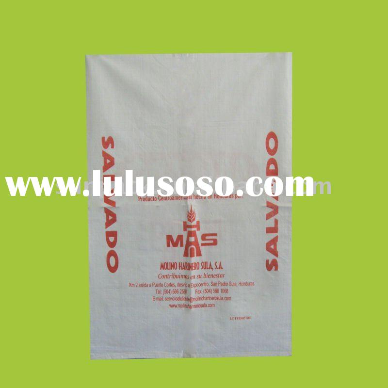PP WOVEN BAG FOR PACKAGING RICE/ FLOUR/ FERTILIZER/ FOOD ETC.
