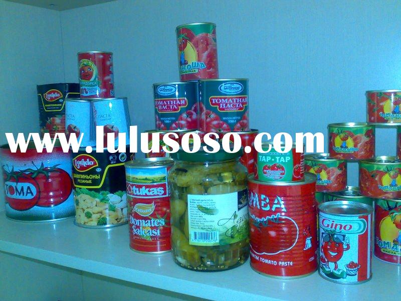 PRODUCTION LINE FOR FRUIT AND VEGETABLE PRODUCTS(Canned tomato paste,Canned pickled gherkins,Canned