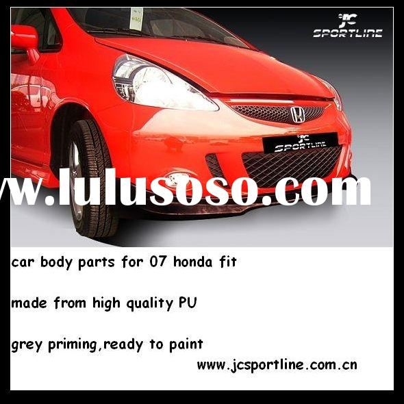 PU Mugen car body kits/car body parts For 07 Honda Fit/Jazz Hatch back