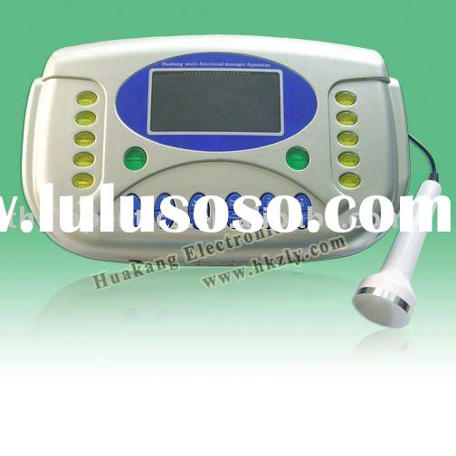 Physical therapy machine with laser treatment