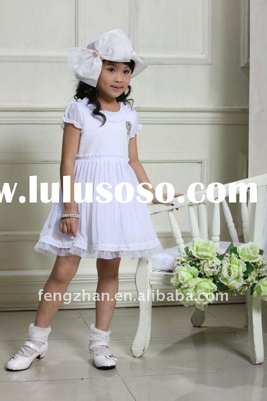 Pink Nana princess flower girl dress