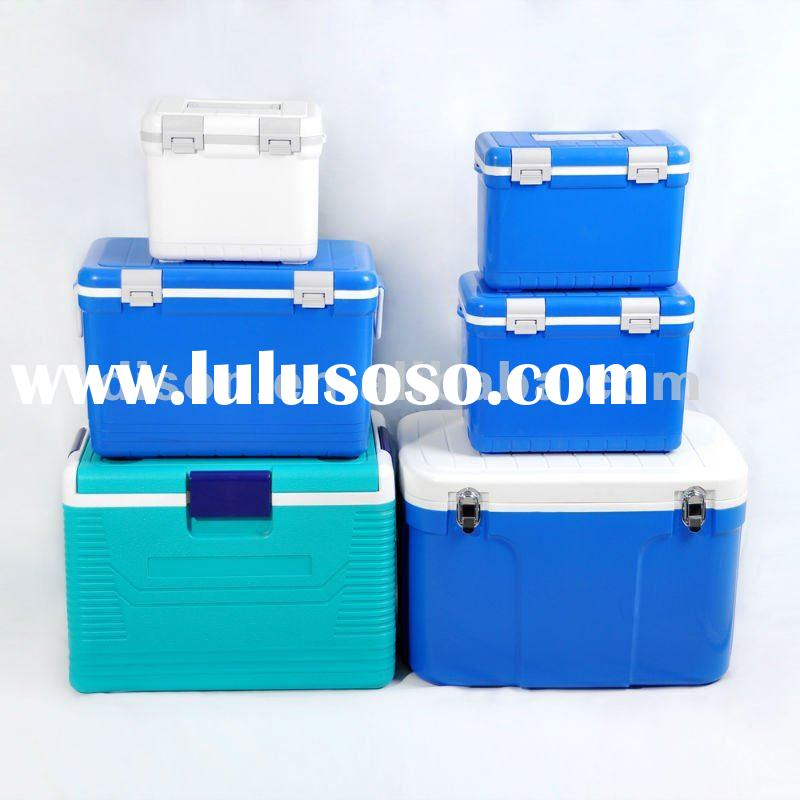Plastic Cooler box for vaccine, beer, food, fishing, BBQ