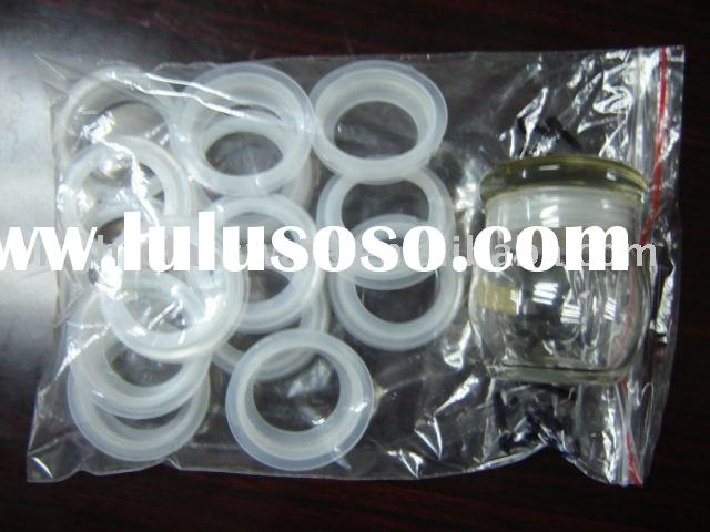 Plastic Rubber Seal ring for glass jar ,bottle ,container