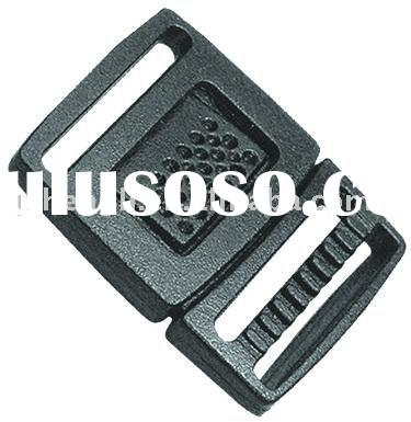 Plastic small center release insert buckle (HL-A045)