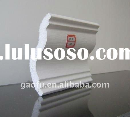 Polystyrene decorations and decorative ceiling cornices