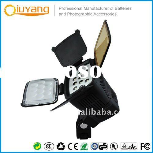 Professional LED video light 5012 with camera battery