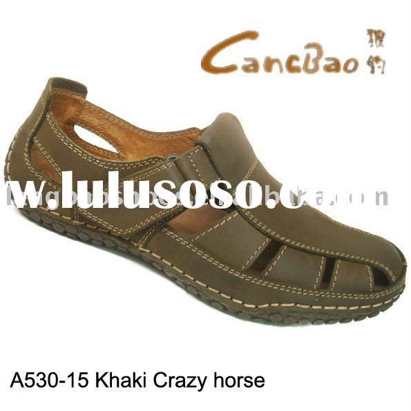 Pure Leather Men's Handmade Sandals