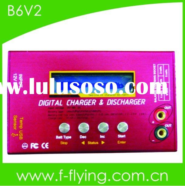 RC charger/ discharger, battery charger, usb charger (Model:B6 V2)