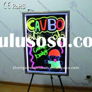 RGB 5050 Cold Chip Slim Acrylic Led Writing Board Outdoor for advertising