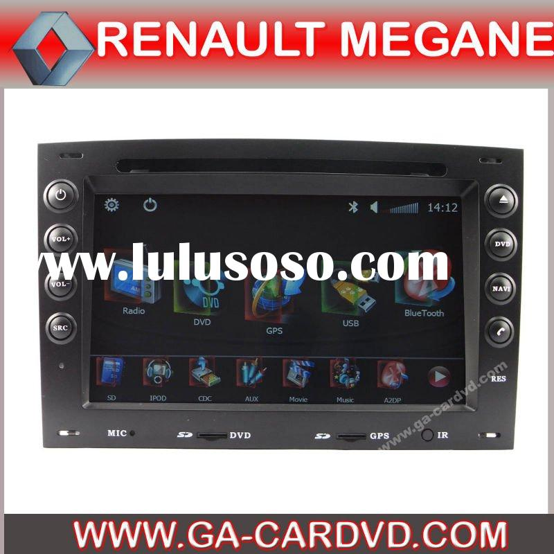 Renault megane dvd car player with bluetooth,GPS
