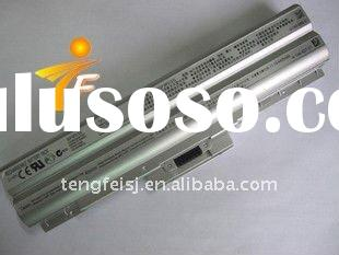 Replacement laptop battery for Sony BPS13 Silver