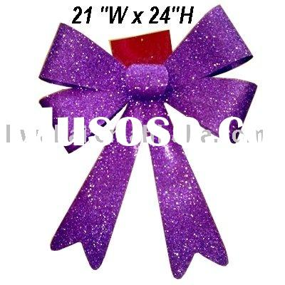 Ribbon Bow Tie - Purple