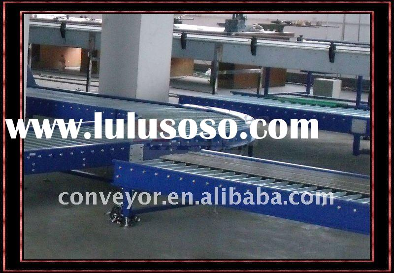 Roller Conveyor System in Warehouses