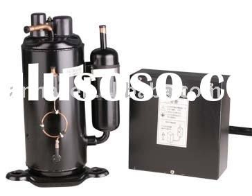 Rotary Hermetical cooling Refrigeration compressor for industrial freezers supermarket display cabin
