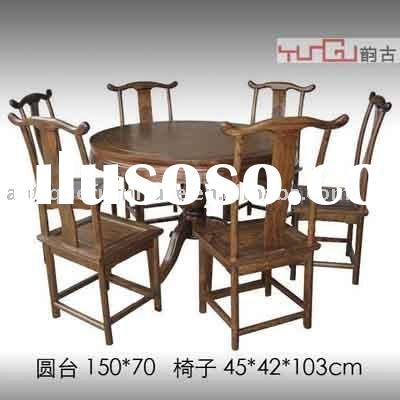 Round dining Table set,Restaurant table furniture