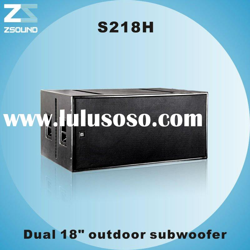 S218H Dual two-way Subwoofer