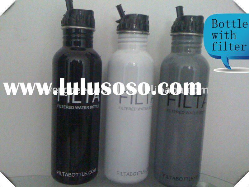 SGS Certification 800ml (27OZ ) Water Filtration System Filter promo bottle