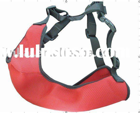 Safety belt dog harness