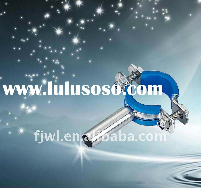Sanitary Stainless Steel Pipe Holder with Insert