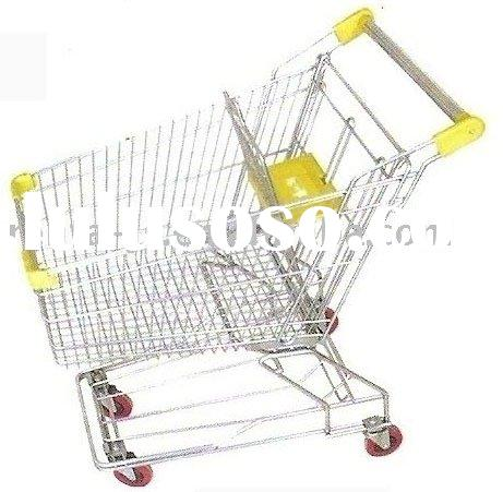 aluminum hand trolley 45kg Shopping Trolley Foldable ...