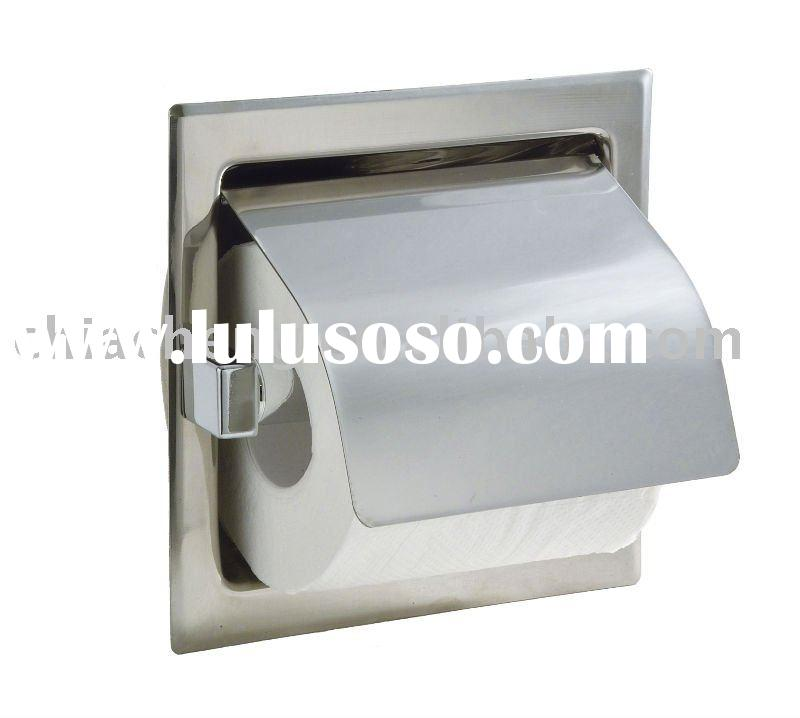 Single Roll Toilet Tissue Holder With Hood (A261)