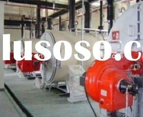Small gas fired steam/hot water boiler