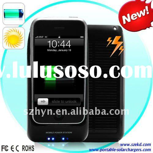 Solar Mobile Phone Charger Solar Charger for Iphone 3(2100mAh)