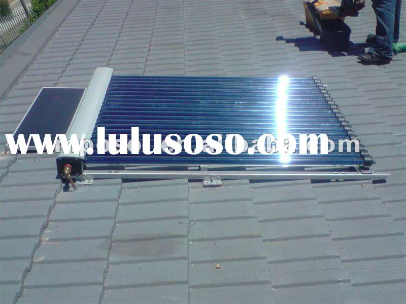 Super heat pipe vacuum tube solar collector