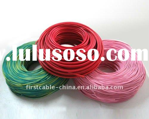 Superior and household PE Insulated Electric Wires