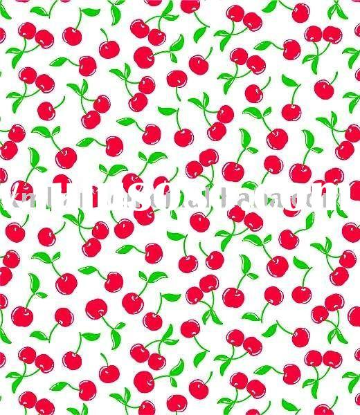 Swimsuits spandex fabric with cherry