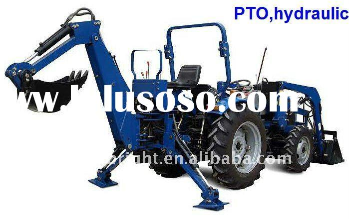 TRACTOR BACKHOE,PTO,oil scale,independent gear pump,hydraulic transmission,3 point linkage
