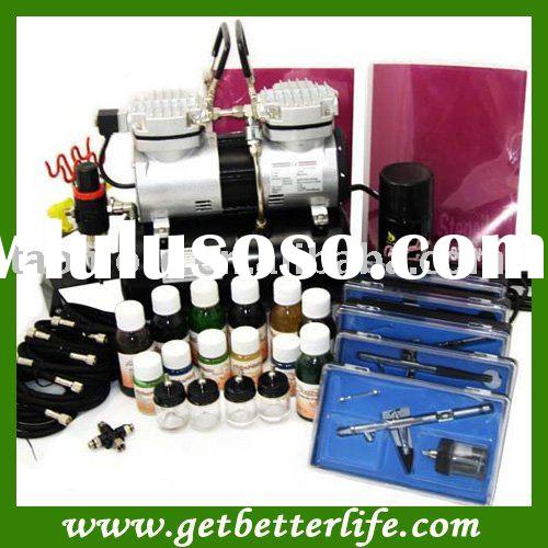 Body art temporary airbrush tattoo paint for sale price for Airbrush tattoo kit