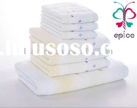 Towel set in gift pack&100%high-grade combed cotton