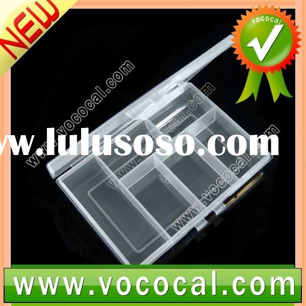Transparent Plastic Fishing Tackle Lure Bait Box